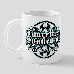 Tourette's Syndrome Tribal Mug