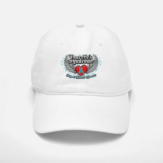 Tourette's Syndrome Wings Baseball Baseball Cap