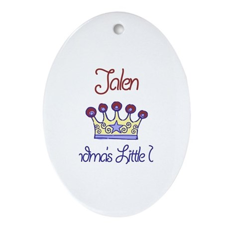 Jalen - Grandma's Prince Oval Ornament