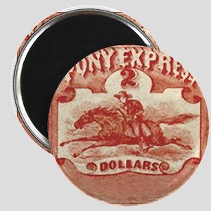 Pony Express Magnet