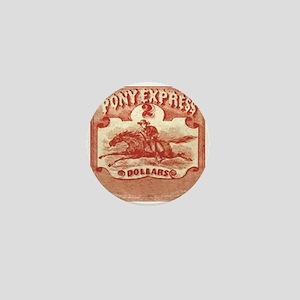 Pony Express Mini Button