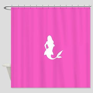 Mermaid (Pink) Shower Curtain