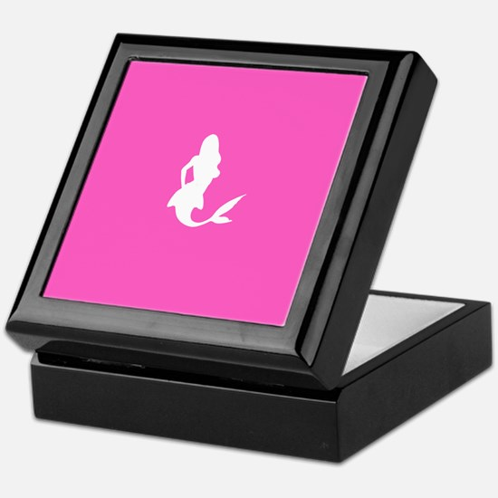 Mermaid (Pink) Keepsake Box