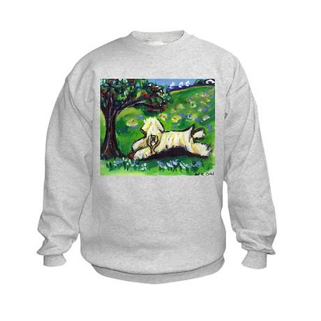 Wheaten Season Summer Kids Sweatshirt