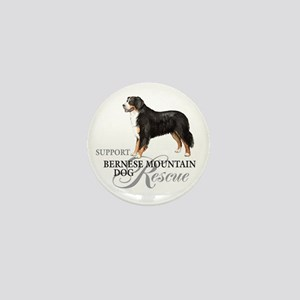 Bernese Mountain Dog Rescue Mini Button