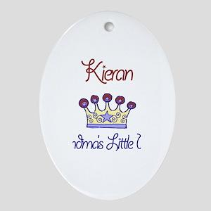 Kieran - Grandma's Prince Oval Ornament