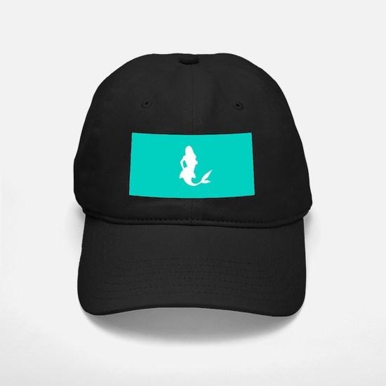 Mermaid (Aqua) Baseball Hat