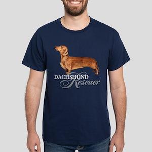 Dachshund Rescue Dark T-Shirt