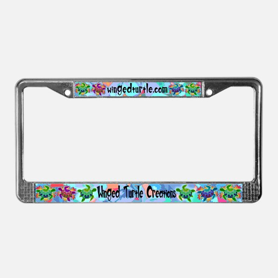 Flame Turtle License Plate Frame