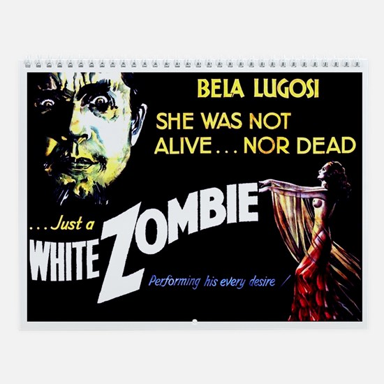 White Zombie [1932 Film] Wall Calendar
