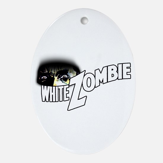 White Zombie [1932 Film] Oval Ornament