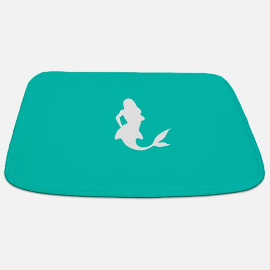 Mermaid (Aqua) Bathmat