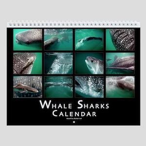 Whale Shark Wall Calendar