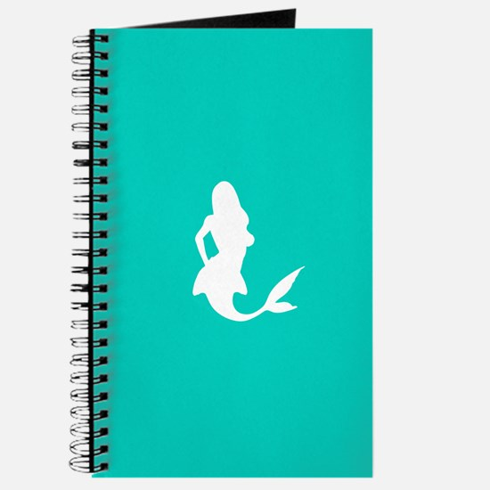 Mermaid (Aqua) Journal