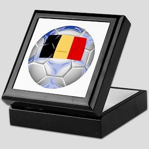 Belgium Soccer Keepsake Box