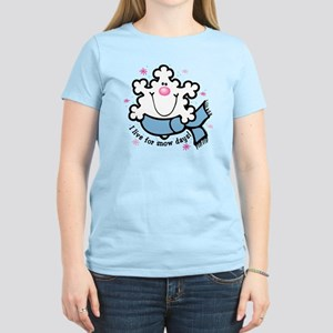 Snowflake Snow Days Women's Light T-Shirt