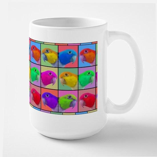 Pop Art WB Caique Large Mug