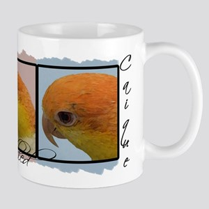 TriColor Art White Bellied Caique Mug