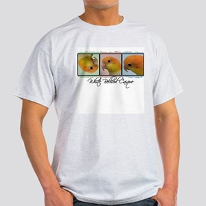 TriColor Art White Bellied Caique Light T-Shirt