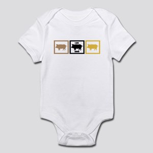 I Love Pork Adobo Infant Bodysuit