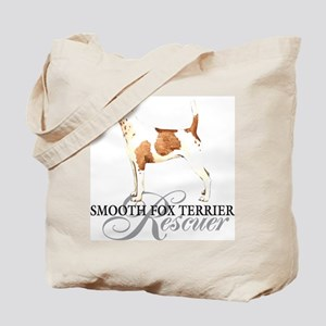 Smooth Fox Terrier Rescue Tote Bag