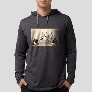 Sumo Wrestlers Long Sleeve T-Shirt