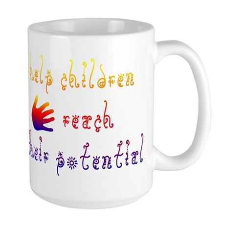 Children's Rights Large Mug