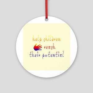 Children's Rights Ornament (Round)