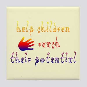 Children's Rights Tile Coaster
