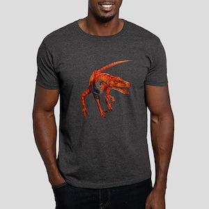 Velociraptor Raptor Dinosaur Dark T-Shirt