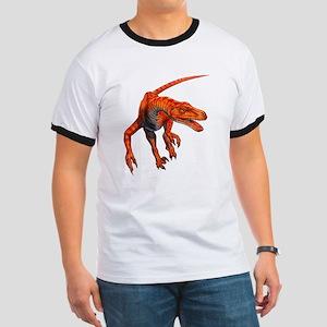 Velociraptor Raptor Dinosaur Ringer T