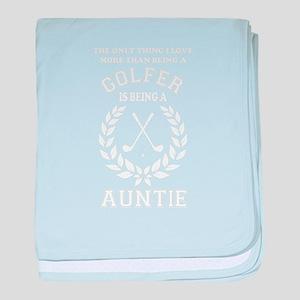 golfer family baby blanket