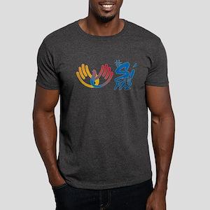 Si a la paz en Colombia Dark T-Shirt