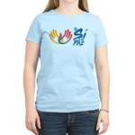 Si a la paz en Colombia Women's Light T-Shirt