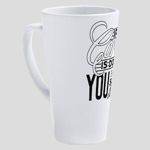 Coroner 17 oz Latte Mug