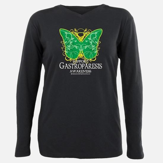 Gastroparesis-Butterfly-blk T-Shirt
