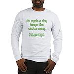 Apple A Day Long Sleeve T-Shirt