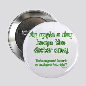 "Apple A Day 2.25"" Button"
