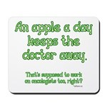 Apple A Day Mousepad