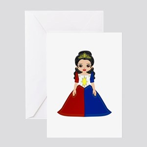 Philippine Princess Greeting Card
