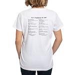 MA's Flashbacks 2007 Women's V-Neck T-Shirt