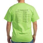 MA's Flashbacks 2007 Green T-Shirt