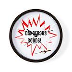DANGEROUS GOODS! Wall Clock