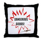 DANGEROUS GOODS! Throw Pillow