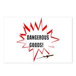 DANGEROUS GOODS! Postcards (Package of 8)