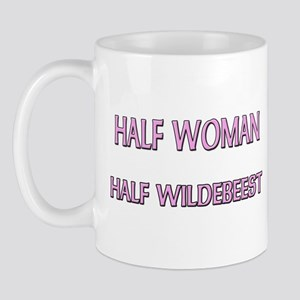 Half Woman Half Wildebeest Mug