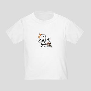 Girl & Beagle Toddler T-Shirt
