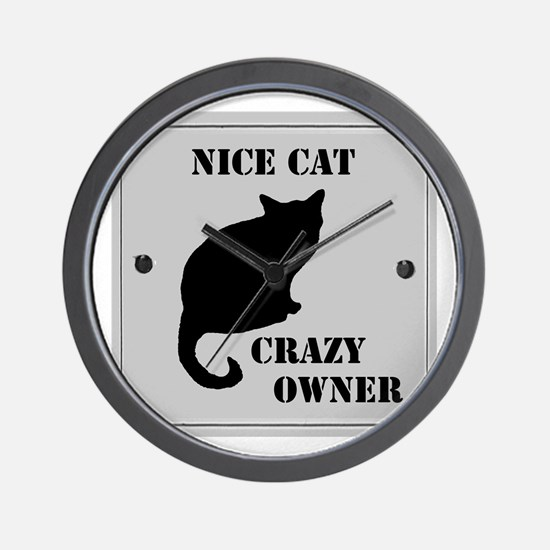 Nice Cat Wall Clock