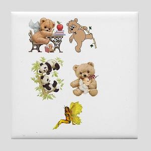 Fantasy Kingdom of Childhood Tile Coaster
