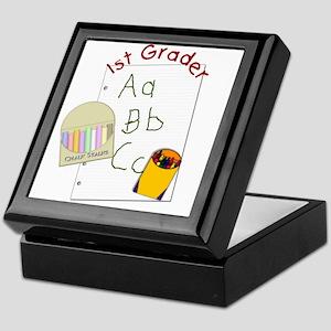 First Grader Keepsake Box